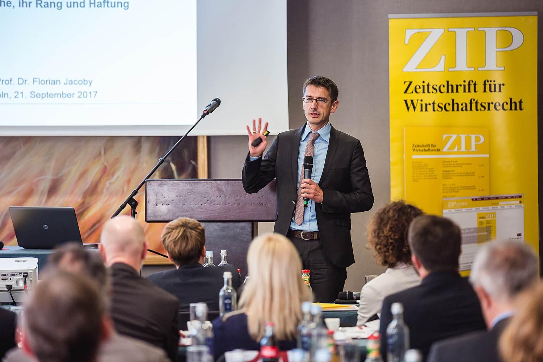 ZIP Jahrestagung des RWS Verlages am 21.09.2017 in Köln
